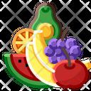 Diet Food Fresh Icon