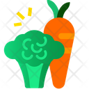 Diet Food Salad Carrot Icon
