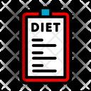 Diet List Icon