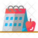 Calendar Apple Desk Icon