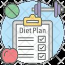 Diet Plan Diet List Checklist Icon