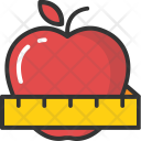 Apple Slim Diet Icon