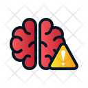Different Brain Brain Mental Situation Icon