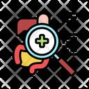 Digestion Examine Examining Tract Icon