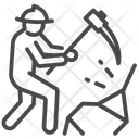 Digging Labor Mine Icon