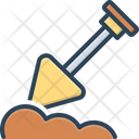 Dig Work Construction Icon