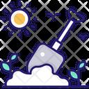 Digging Dig Gardening Icon