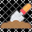 Digging Soil Ground Icon