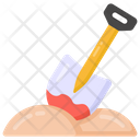 Digging Grave Icon