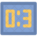 Digital Clock Alarm Icon