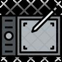 Digital Pen Art Icon
