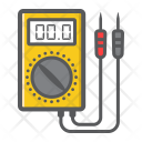Digital Multimeter Electric Icon