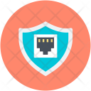 Digital Security Globe Icon