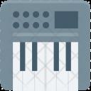 Digital Keyboard Electronic Icon
