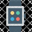 Digital Watch Os Icon