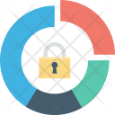 Digital Lock Padlock Icon