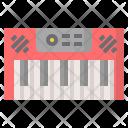 Digital Piano Instruments Icon