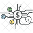 Digital Currency Business Icon