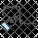 Digital Artwork Bezier Icon