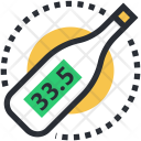 Digital Thermometer Medical Icon
