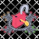 Connection Access Digital Key Digital Access Icon