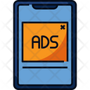 Digital Ads Advertising Mobile Ads Icon