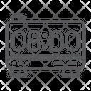 Electronic Alarm Clock Icon