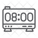 Digital alarm Icon