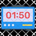 Smart Alarm Digital Clock Electronic Clock Icon
