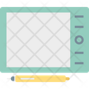 Digital Artboard Digitizer Drawing Tablet Icon