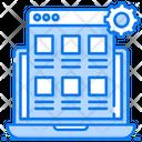 Digital Asset Management Web Content Management Web Journal Icon