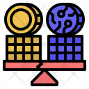 Digital Asset Risk Icon