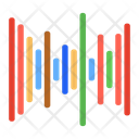 Digital Audio Audio Editing Music Sequence Icon