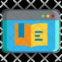 Digital Book Icon