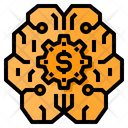 Brain Business Brainstorm Icon