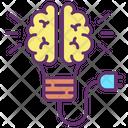 Idigital Brain Digital Brain Artificial Brain Icon