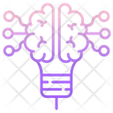 Ismart Brain Digital Brain Artificial Brain Icon