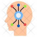 Digital Brain Mind Processor Artificial Intelligence Icon