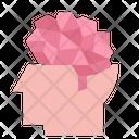Digital Brain Idea Icon