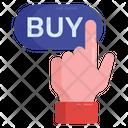 Digital Buy Buy Button Digital Shopping Icon