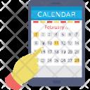 Digital Calendar Icon