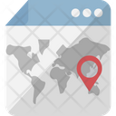 Digital cartography Icon