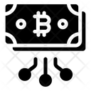 Bitcoin Cash Blockchain Currency Bitcoin Banknote Icon
