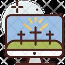 Digital Christian Cross Christian Cross Digital Icon