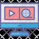 Digital Cinema Filmmaking Post Production Icon