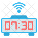 Digital Clock Smart Icon