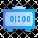 Digital Clock Home Appliances Icon