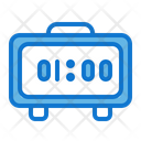 Digital Clock Home Appliance Icon
