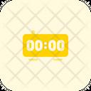 New Year Digital Clock Icon