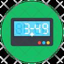 Digital Clock Alarm Clock Digital Timer Icon